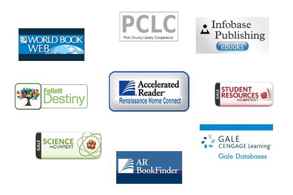 Collage of Online Resources logos